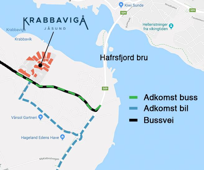 Adkomst til Krabbavigå