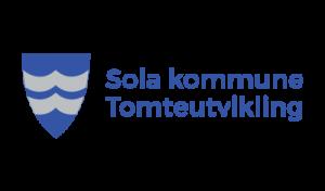 Sola kommune Tomteutvikling logo